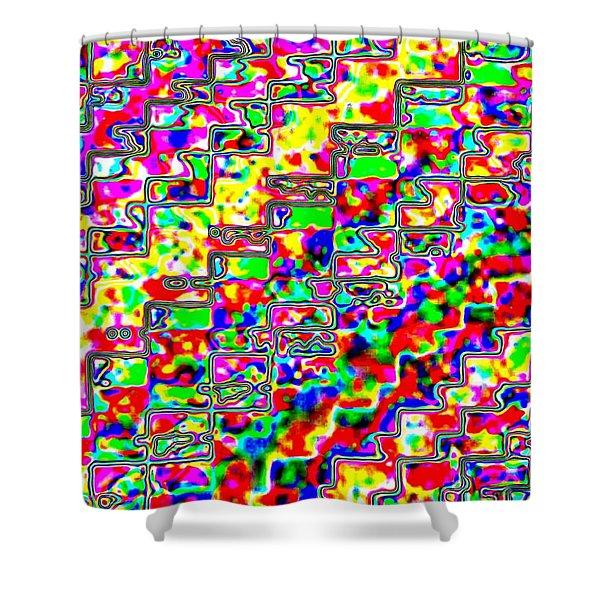Micro-macro 3 Shower Curtain