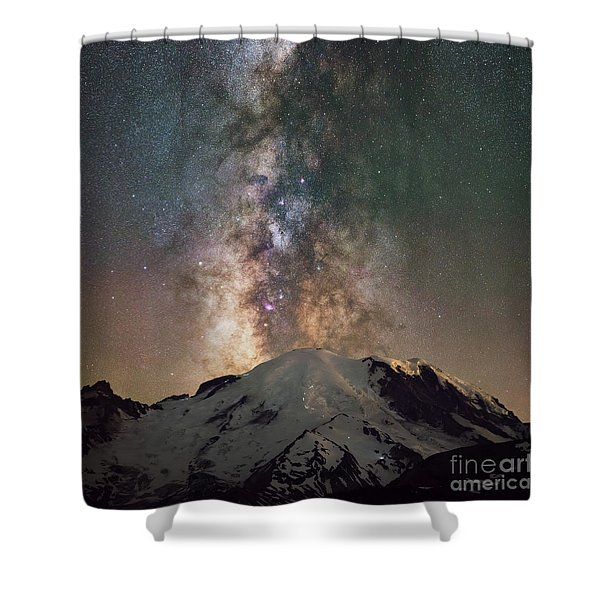 Midnight Hike  Shower Curtain