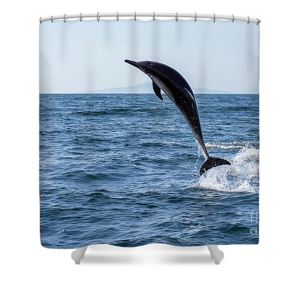 Might As Well Jump Shower Curtain