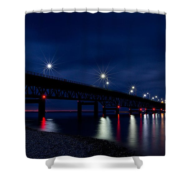 Shower Curtain featuring the photograph Mighty Mac 2 by Heather Kenward