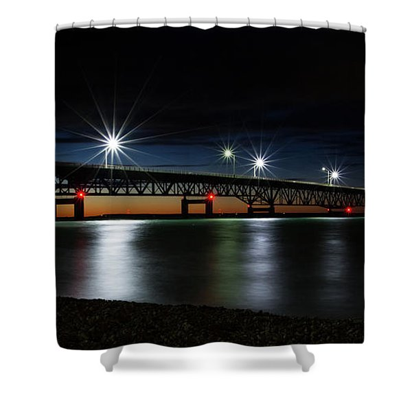 Shower Curtain featuring the photograph Mighty Mac 4 by Heather Kenward