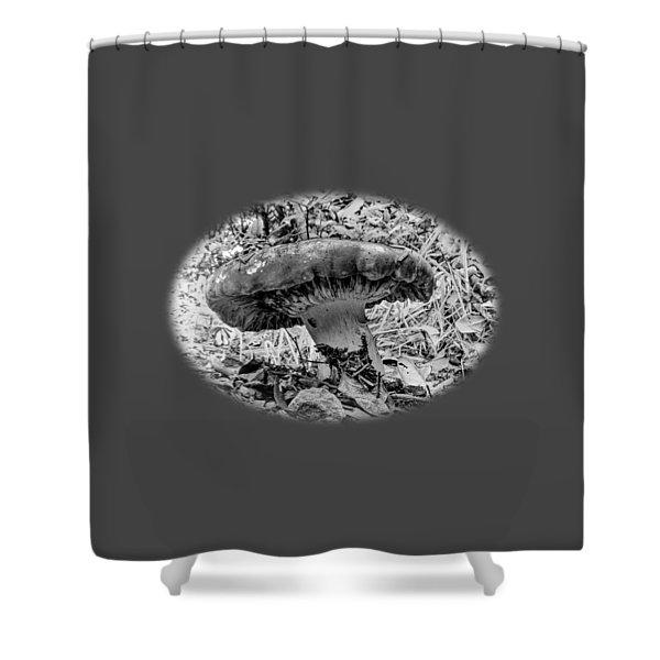 Mighty Mushroom T Shirt Style Shower Curtain