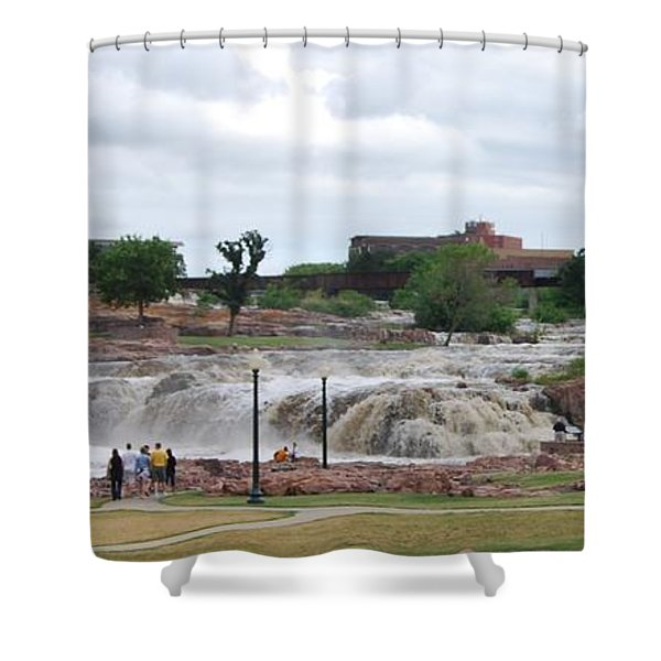 Mighty Sioux Falls Shower Curtain
