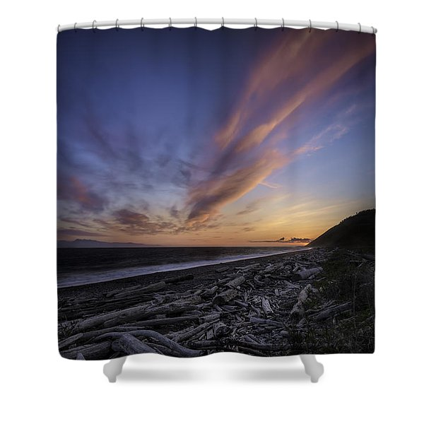 Mighty Sky Shower Curtain