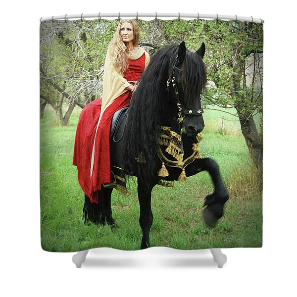 Mighty Step Shower Curtain
