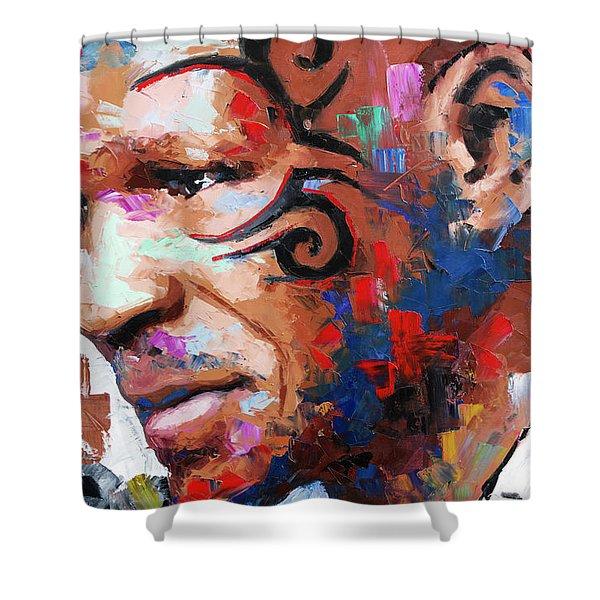 Mike Tyson II Shower Curtain