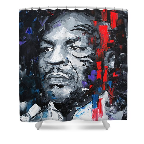 Mike Tyson Shower Curtain