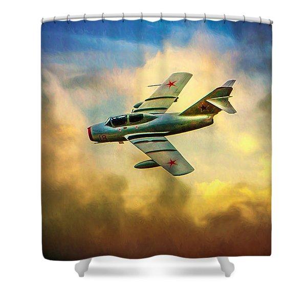 Mikoyan-gurevich Mig-15uti Shower Curtain
