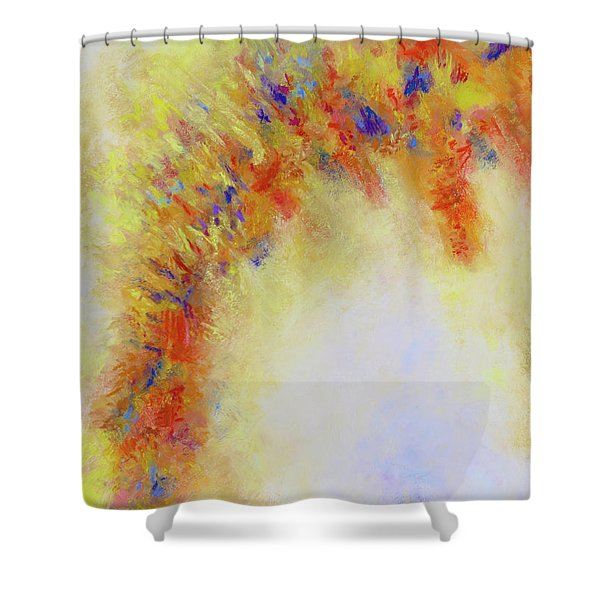 Mild Mannered Shower Curtain