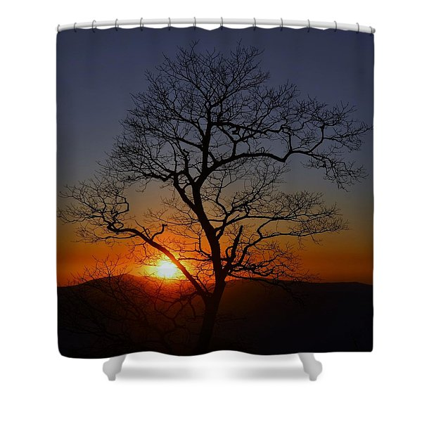 Mile High Shower Curtain