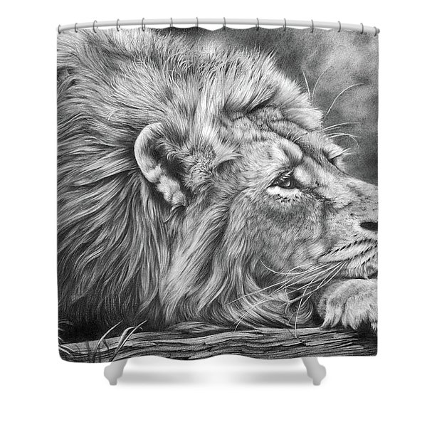 Miles Away Shower Curtain