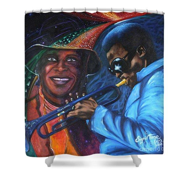 Blaa Kattproduksjoner            Miles Davis - Smiling Shower Curtain