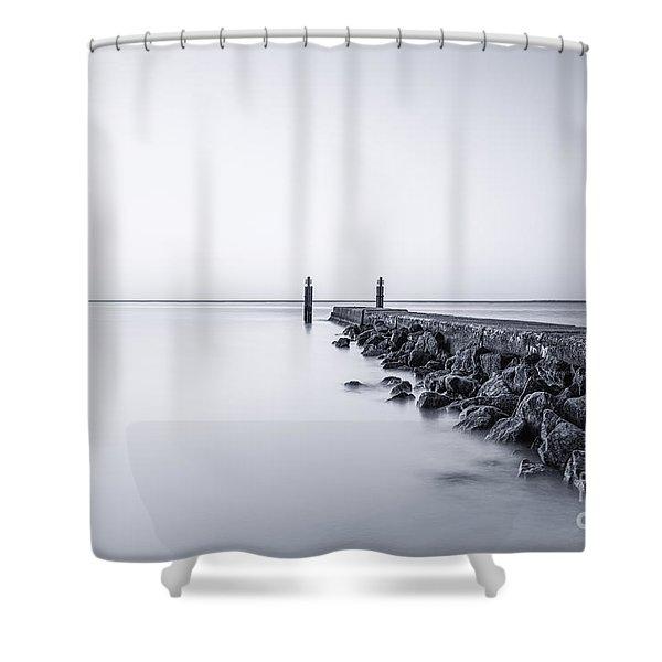Milky Sea Shower Curtain