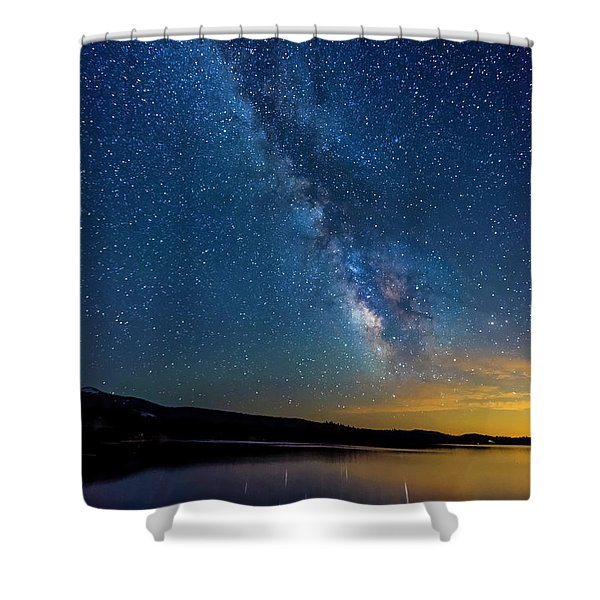 Milky Way 6 Shower Curtain
