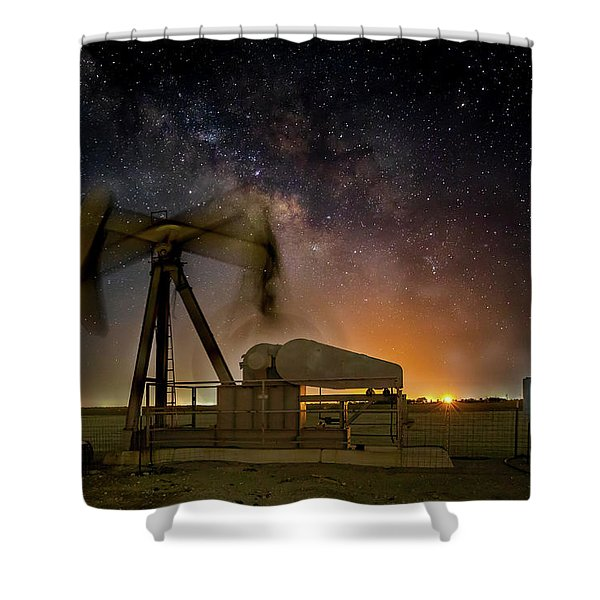 Milky Way Motion Shower Curtain