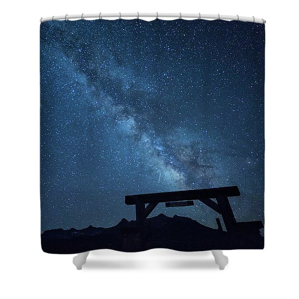 Milky Way Ranch Shower Curtain