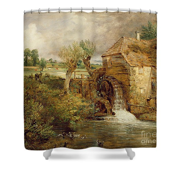 Mill At Gillingham - Dorset Shower Curtain