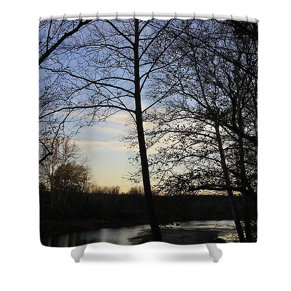 Mill Creek Memories Shower Curtain