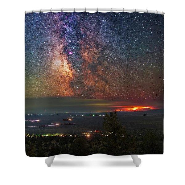 Milli Fire Shower Curtain