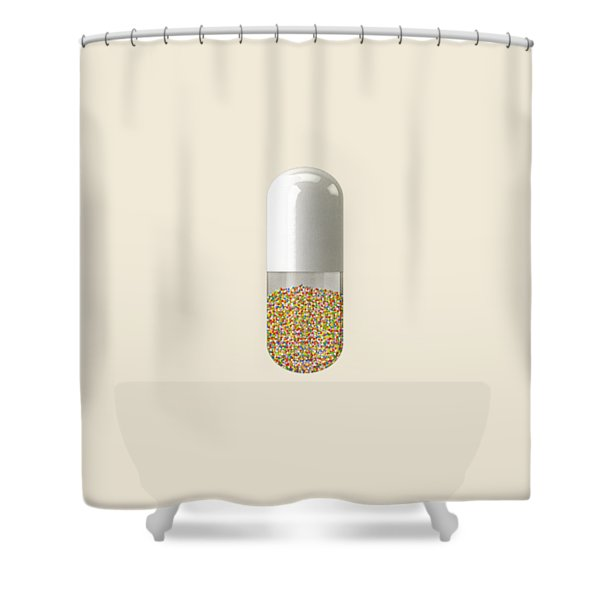 Millions And Billions Shower Curtain
