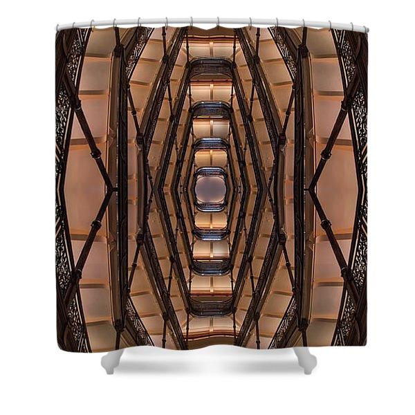 Milwaukee City Halll Atrium Shower Curtain