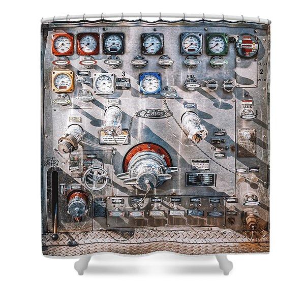 Milwaukee Fire Department Engine 27 Shower Curtain