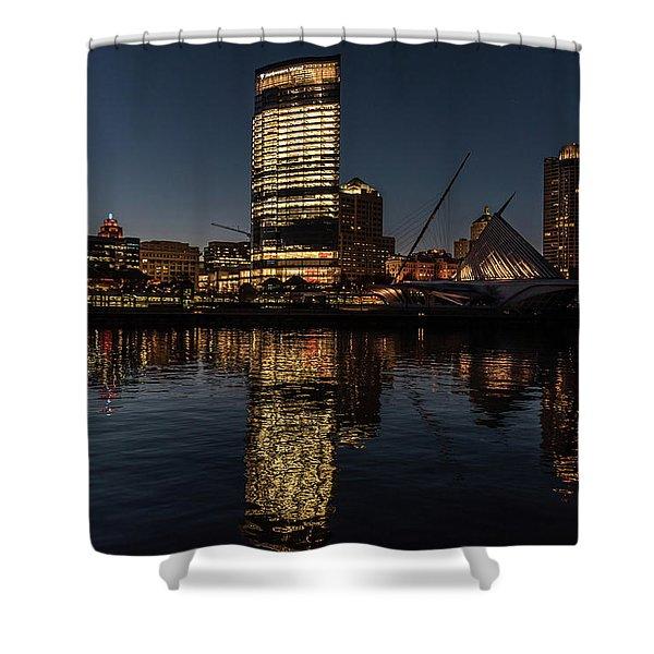 Milwaukee Reflections Shower Curtain