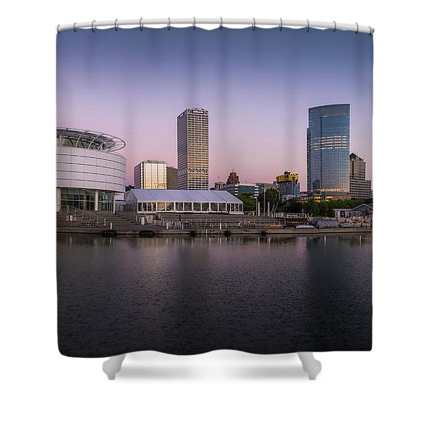 Milwaukee Sky Shower Curtain