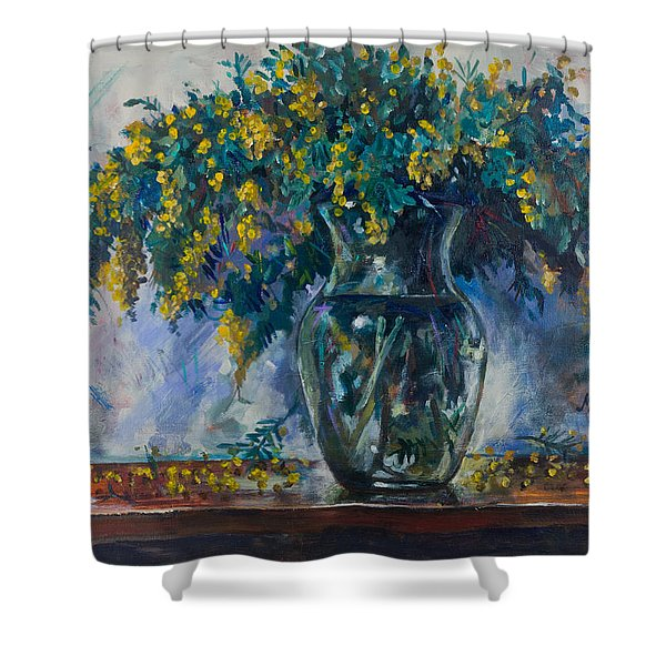 Mimosa Shower Curtain