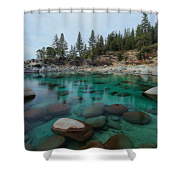 Mind Blowing Clarity Shower Curtain
