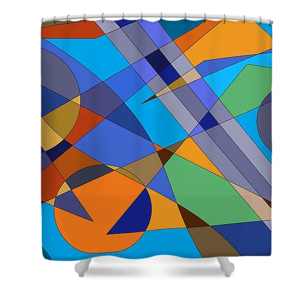 Mind Games Shower Curtain