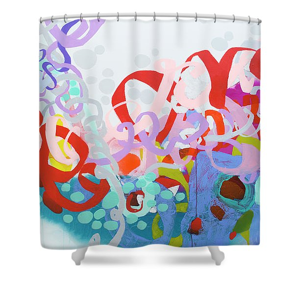 Mind Of Your Own Shower Curtain