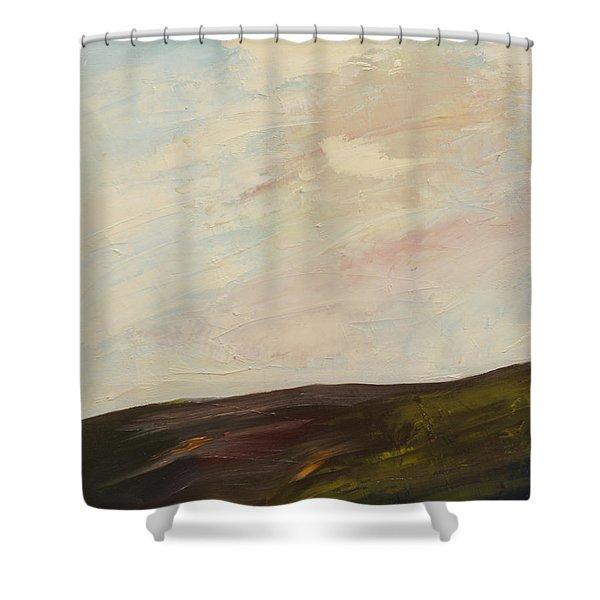 Mindful Landscape Shower Curtain