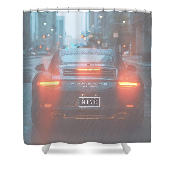 Mine In The Rain Shower Curtain