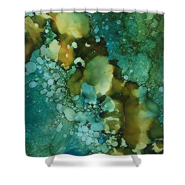 Mineral Spirits Shower Curtain