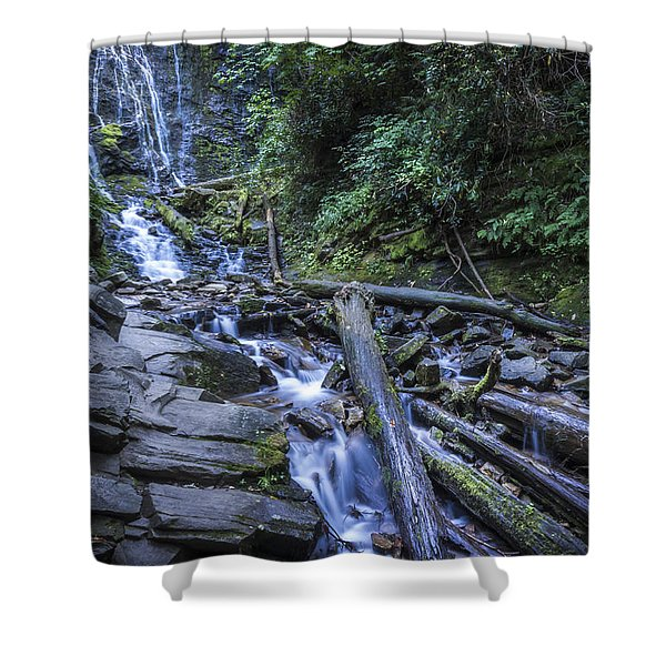 Mingo Falls One Shower Curtain