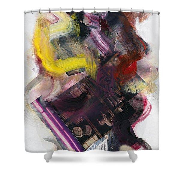 Mingus Cumbia II Shower Curtain