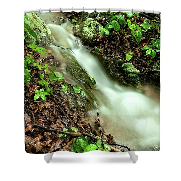 Mini Cascade Shower Curtain