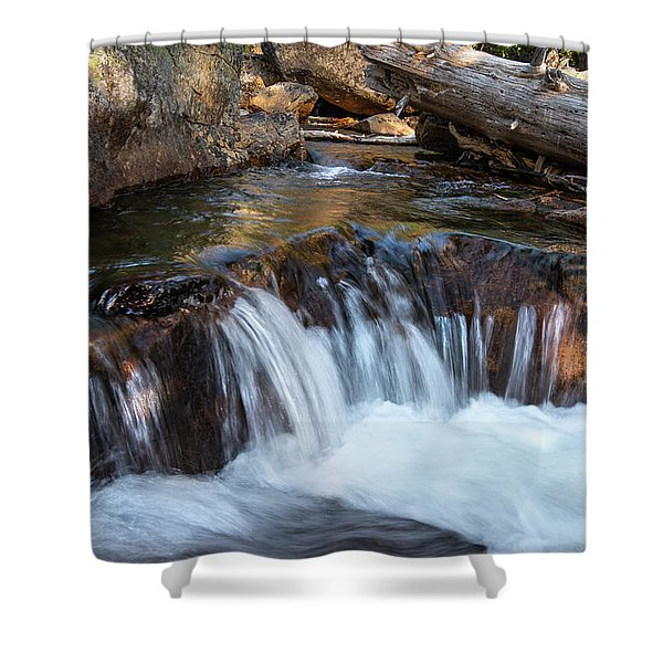 Mini-fall At Eagle Falls Shower Curtain