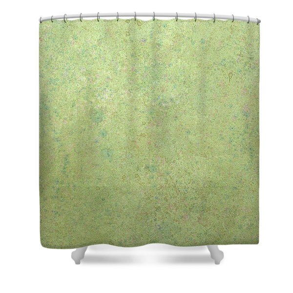 Minimal Number 1 Shower Curtain