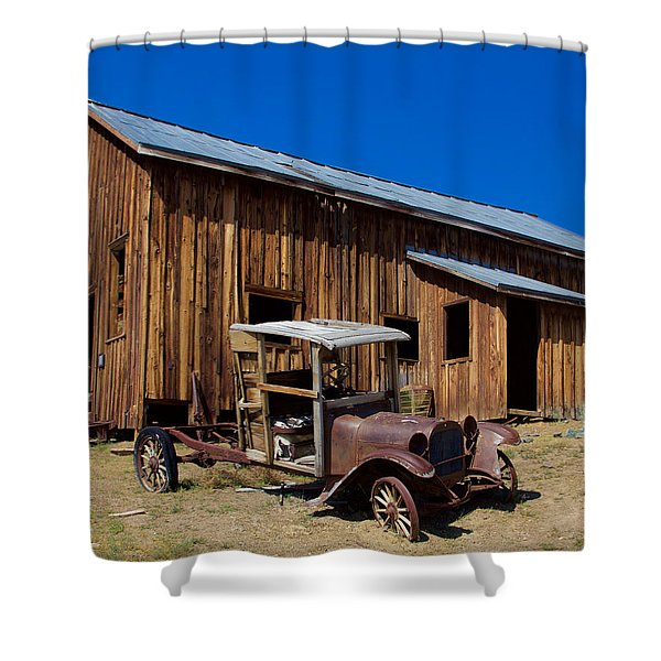 Mining Relic Shower Curtain