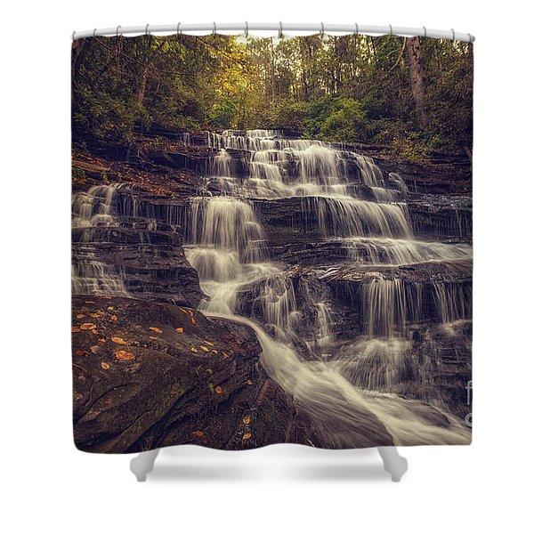 Minnehaha Fall 3 Shower Curtain