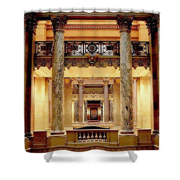 Minnesota Capitol Senate Shower Curtain