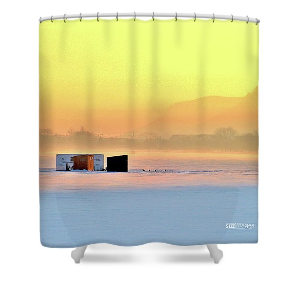 Minnesota Sunrise Shower Curtain