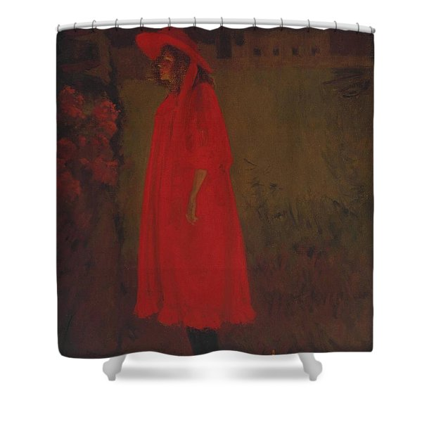 Minnie Cunningham At The Old Bedford Shower Curtain
