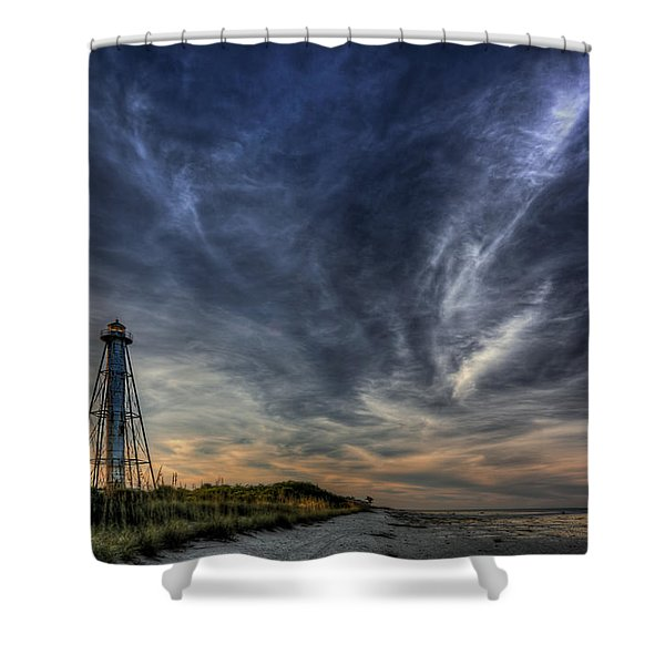 Minor Earth. Major Sky. Shower Curtain
