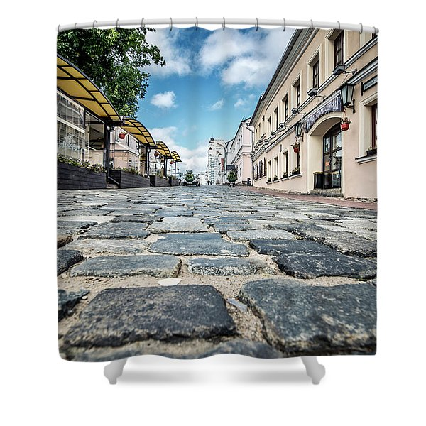 Minsk Old Town Shower Curtain