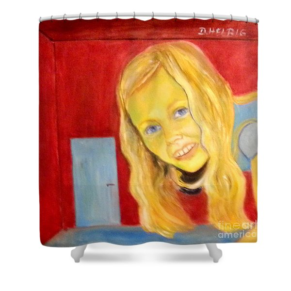 Miracles Of Wonderland Shower Curtain