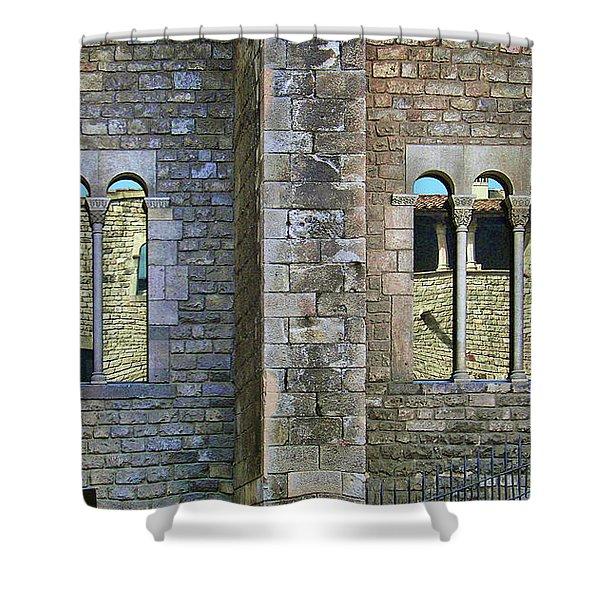 Mirador - Windows Shower Curtain