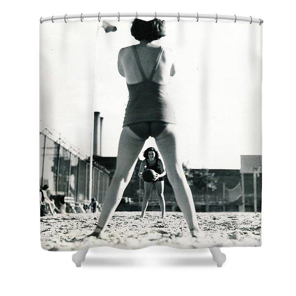 Miramar Pool, 1932 Shower Curtain